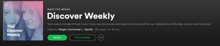 DiscoverWeekly